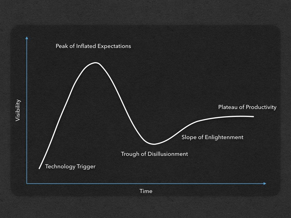 The Gartner Hype Cycle